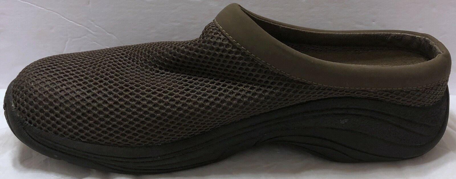 Merrell Dark Green 10 Backless Mesh Clogs Sz 10 Green Slip On Hiking Primal Hike Trail 182dc1
