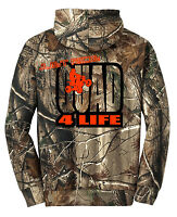 Realtree Ap Camo Hoodie Sweat Shirt Just Ride Quad 4 Life Atv 4 Wheeler Jumper