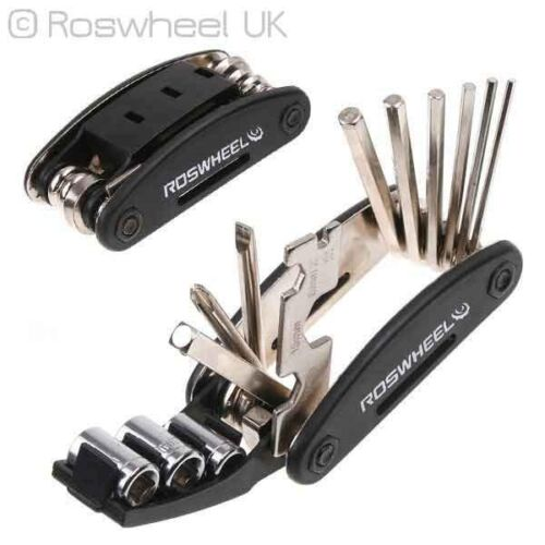 16in1 BIKE MULTITOOL socket spanner allen hex key tool set screwdriver in one