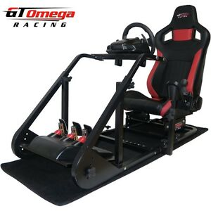gt omega kunst rennsimulator cockpit rs6 f r logitech g27. Black Bedroom Furniture Sets. Home Design Ideas