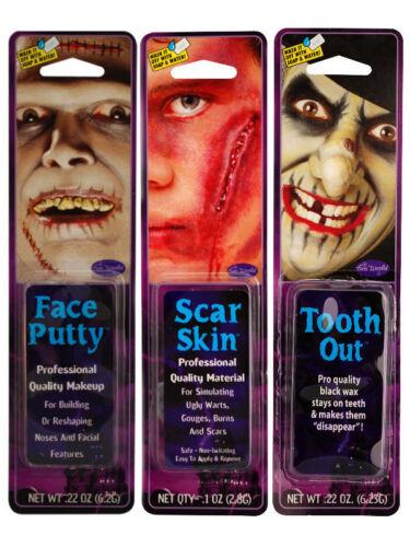 Halloween make up kit viso Stucco Pelle Cicatrice Costume
