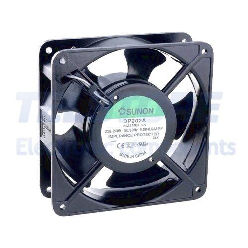 m3//h SUNON 1pcs dp202a2123mbt AC Axial Fan 230vac 120x120x38mm 133 ± 10/%