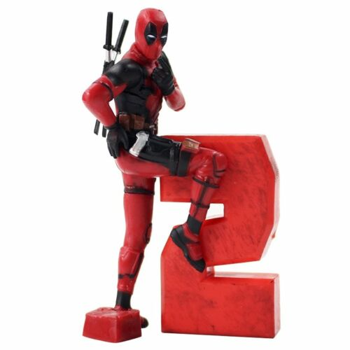 Marvel Action Figures Deadpool 2 Heroes PVC Model Collection Toys Gifts