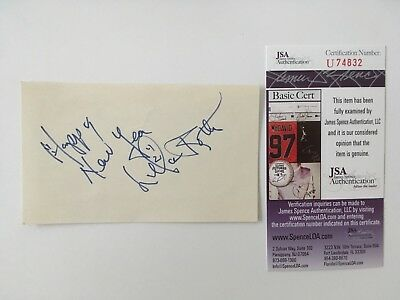 Entertainment Memorabilia Cheap Price Lillian Roth Signed Autographed 3x5 Card Jsa Certified High Resilience Cards & Papers