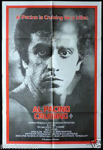 CRUISING-Vintage-One-Sheet-Movie-poster-Al-Pacino-Undercover-Cop