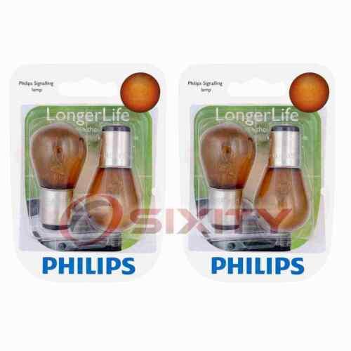 2 pc Philips Parking Light Bulbs for Pontiac 6000 Bonneville Firebird Grand uw