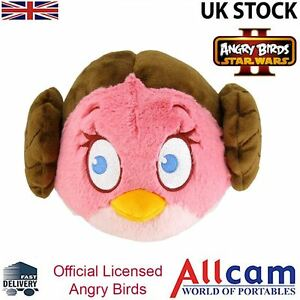angry birds star wars ii large 8 cuddly toy soft plush toy princess leia 22286980371 ebay. Black Bedroom Furniture Sets. Home Design Ideas