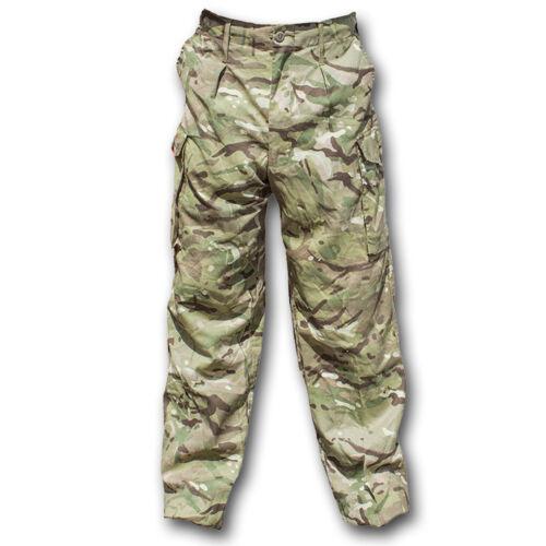 British Army Issue SAS Stile MTP antivento Pantaloni Genuine MULTICAM