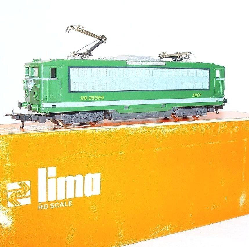 Lima HO French SNCF BB-25589  MONTPARNASSE  ELECTRIC LOCOMOTIVE NMIB`76 RARE
