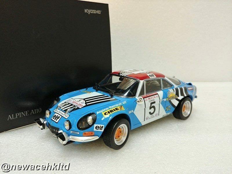 Centro comercial profesional integrado en línea. Alpine A110 Tour de Corse  5 2nd 2nd 2nd 1973 Kyosho modo 1 18  08485B  hasta un 60% de descuento