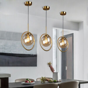 Dining Room Pendant Light Kitchen Ceiling Lights Glass Bedroom Pendant Lighting Ebay