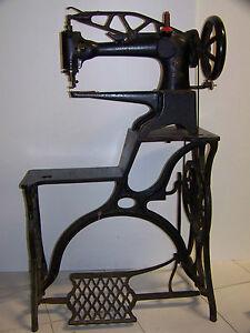 Antica macchina da cucire singer per calzolaio anno 1898 for Macchina per cucire da calzolaio