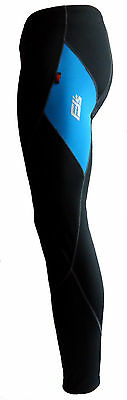 MENS GEL PADDED THERMAL CYCLING CYCLE TROUSERS / LEGGINGS / TIGHTS ANTI BAC PAD