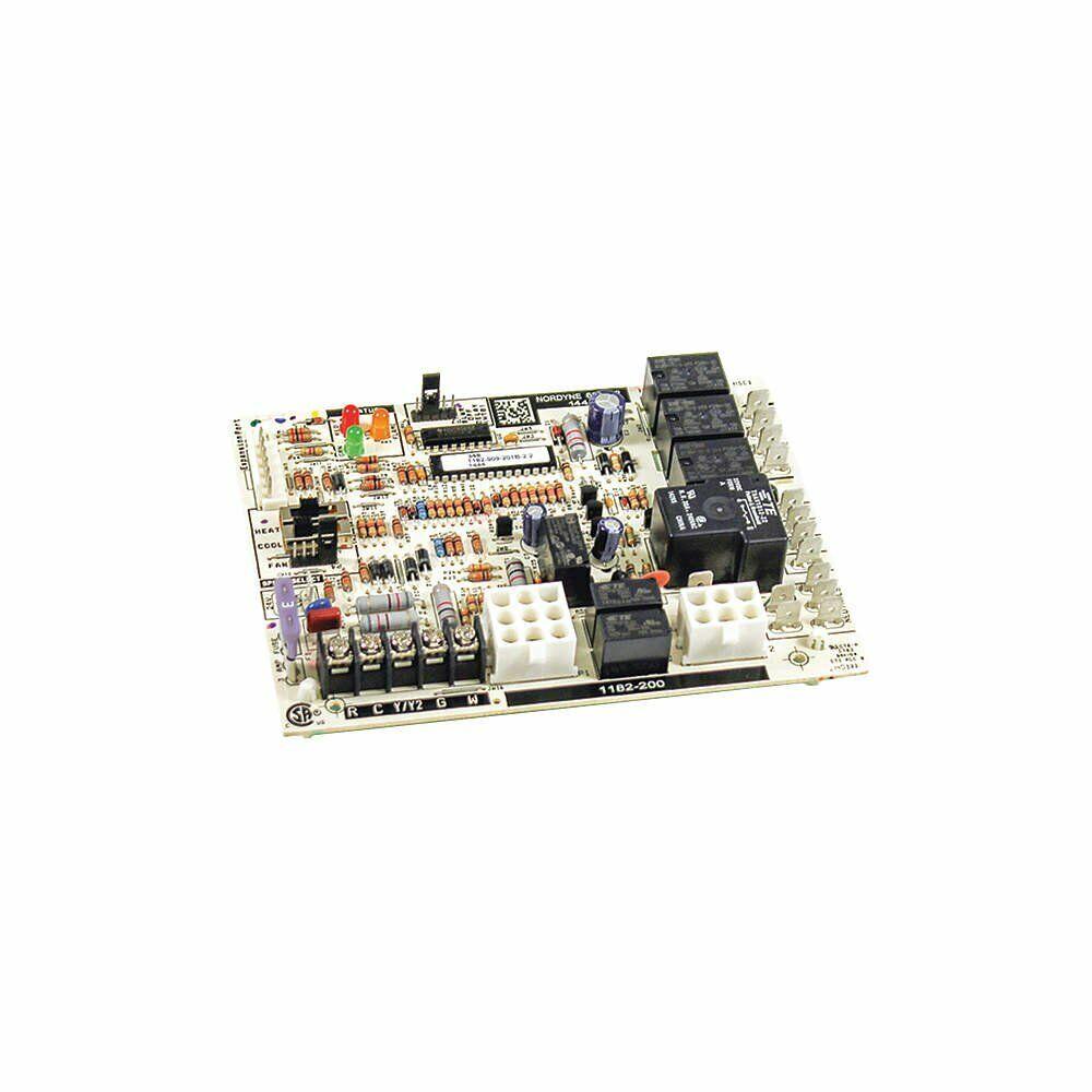 nordyne 920915 nordyne furnace control circuit board 624742 904840 on  nordyne electric blower wiring diagram,