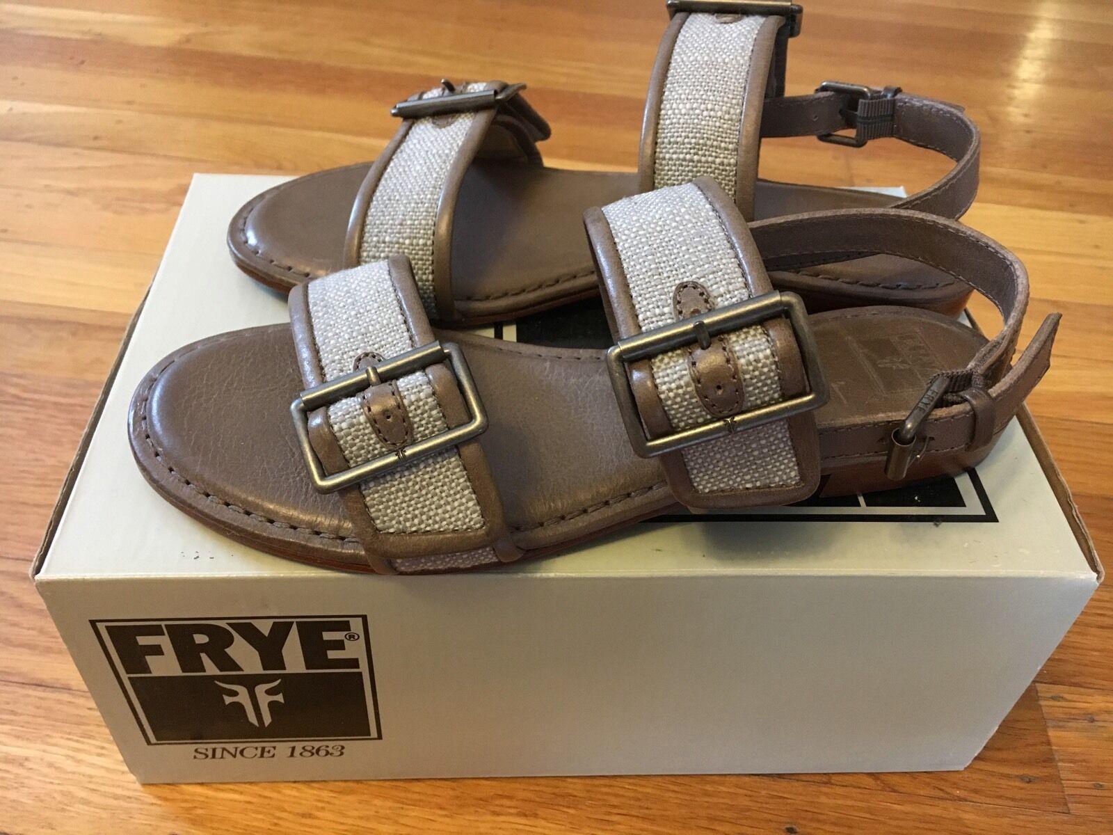 Soludos Women's Ghillie Platform Espadrille Sandal Dove Gray Leather MM1 Size 7
