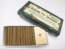24 sticks INCENSE & BURNER balsam fir Paine's SACHET scented pine log holder