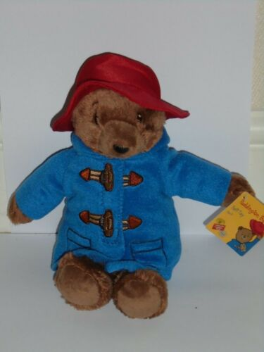 FROM THE MOVIE COLLECTION 22CM TALL PADDINGTON BEAR BRAND NEW WITH TAGS