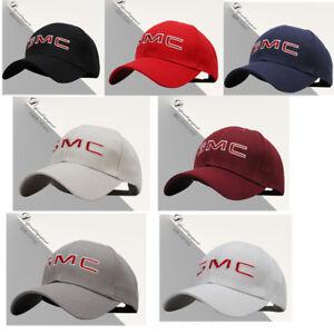 New-Fashion-Chevrolet-GMC-Logo-Embroidery-Baseball-Cap-Adjustable-Size-Black-Hat