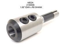 New Meda R8 End Mill Holder 1 Emh 100 2150006 R 8 Shank