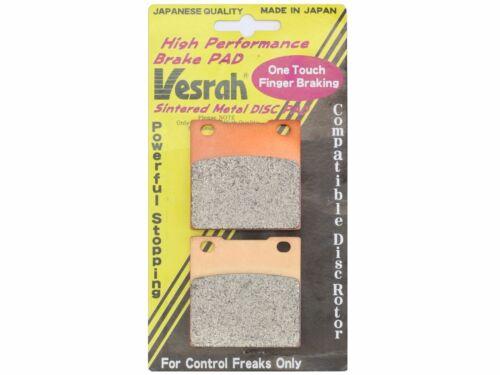 Vesrah Rear Brake Pads 99 2000 01 02 03 04 05 06 07 GSX1300R Hayabusa VD-327JL