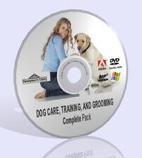 DOG cura, formazione e la cura completa Pack! audios, Guide e più DVD