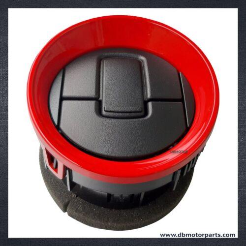 Black Dash Air Vent Louver fit for 2009-2014 F150 4pcs Red
