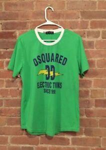 D2-Dsquared2-Green-T-Shirt-Sz-XL-Slim