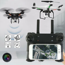 Quadcopter 2.4GHz 6-Axis Gyro Drone 2.0MP Camera Aircraft FPV WiFi Altitude Hold