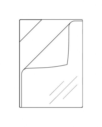 50x QuickLoad Taschen Sichttaschen QuickLoad A4 ablösbar klebend farblos