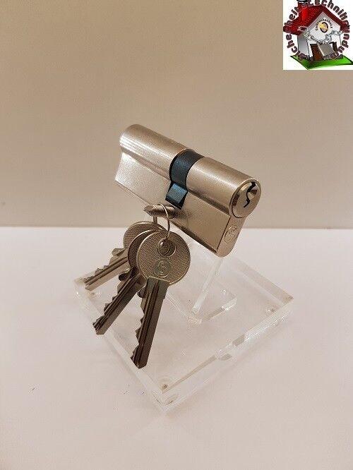 Schließzylinder Schloss Profil Zylinder 3 Schl. 30 45 1-15 Schlüssel TIP %