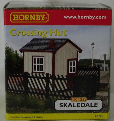 OO Gauge 1:76 Scale NEW BOXED Hornby R9785 Skaledale Crossing Hut