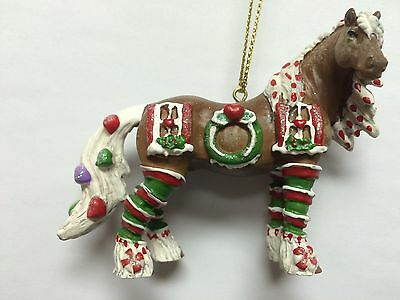 HORSE OF A DIFFERENT COLOR - Sugar Plum - Christmas Ornament - Resin