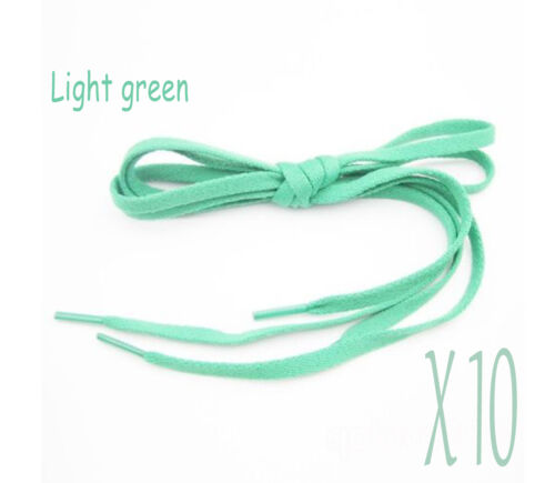 New 10 Pairs Athletic Shoe Laces Shoelaces 110 cm Sport Sneakers Boots Strings