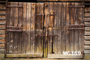 Merveilleux Image Is Loading Rustic Old Barn Door  Polyester Photography Background Photo