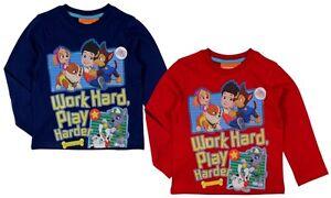 PAW-Patrol-Langarmshirt-98-104-110-116-122-128-langarm-Junge-Kinder-T-Shirt