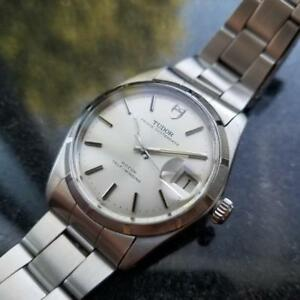 8f71f2a460c TUDOR Mens Prince Oysterdate 7989 0 Automatic c.1960s Vintage Swiss ...