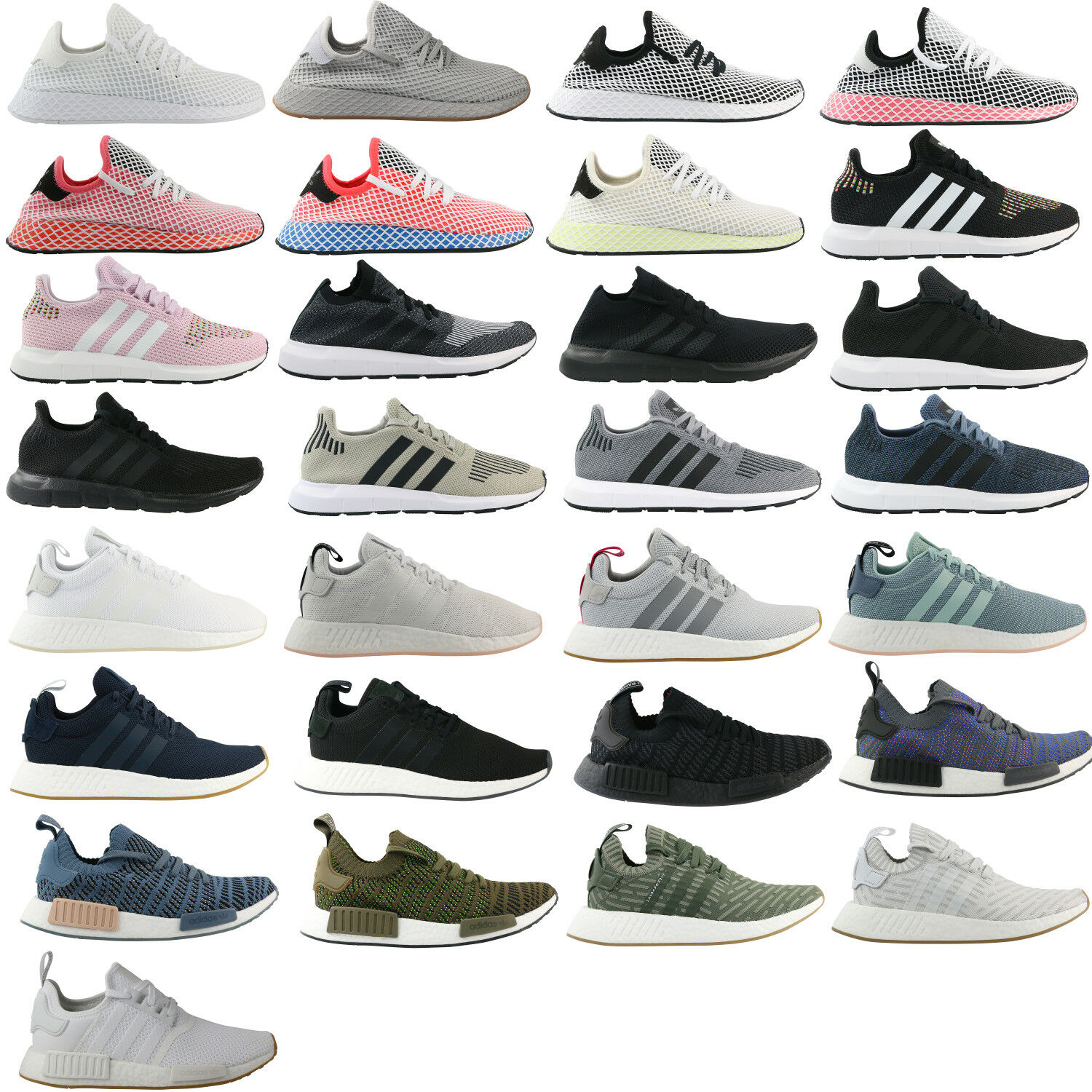 Zapatos casuales salvajes Adidas Originals deerupt Runner nmd Pharrell Williams Swift run zapatos cortos