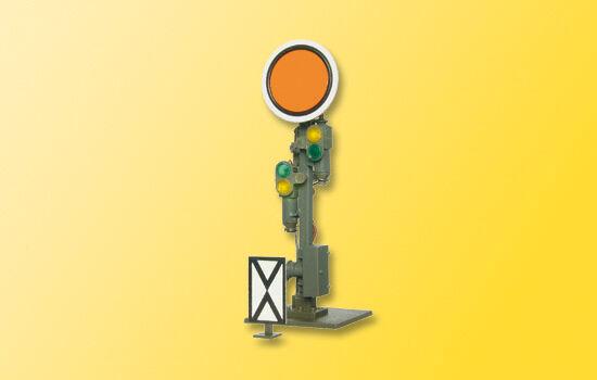 Viessmann 4509 HO Form-Vorsignal, Scheibe beweglich  NEU in OVP