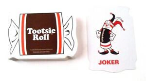 Tootsie-Roll-2006-Playing-Cards-Candy-Shaped-52-1-Joker