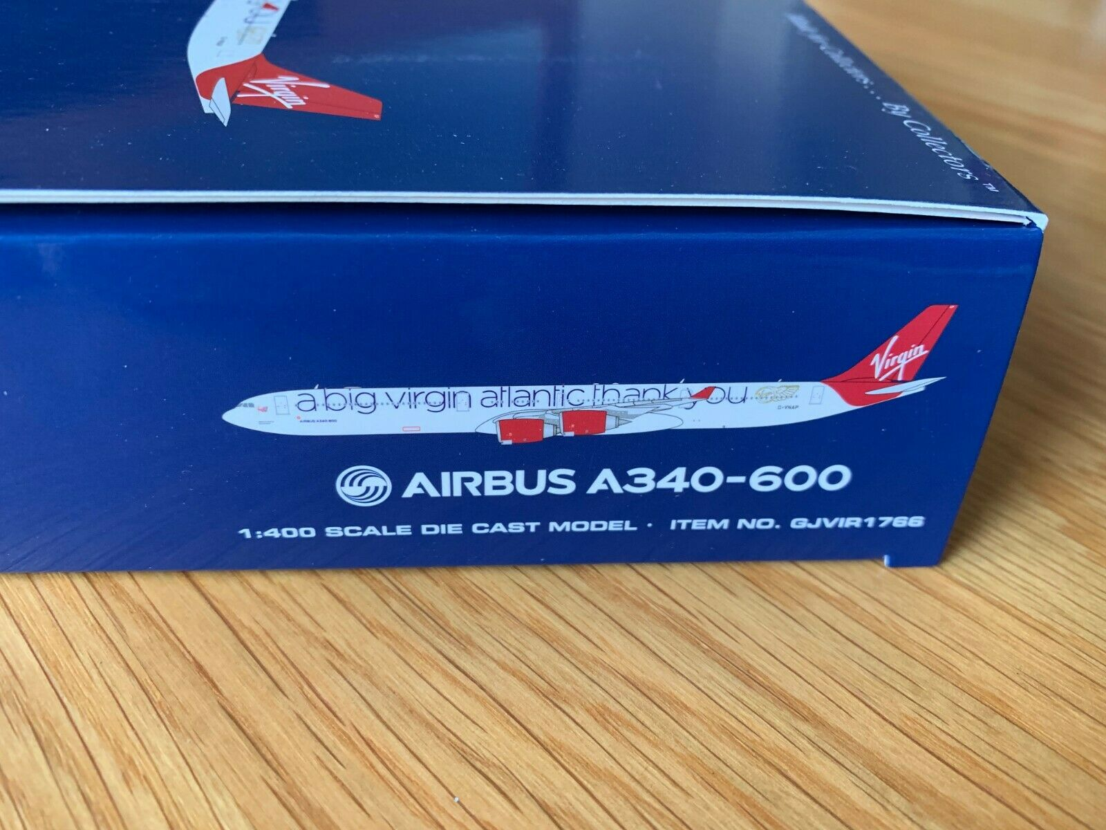 Virgin Atlantic Airbus A340-600 A340-600 A340-600 G-Vnap Gemini Jets Gjvir1766 1 400 Groß Danke 3bd09c