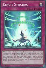 YU-GI-OH SUPER RARE CARD: KING'S SYNCHRO - INOV-EN067