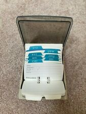 Vintage Rolodex S 310 C Petite Phone Numbers Business Card File Box New Cards