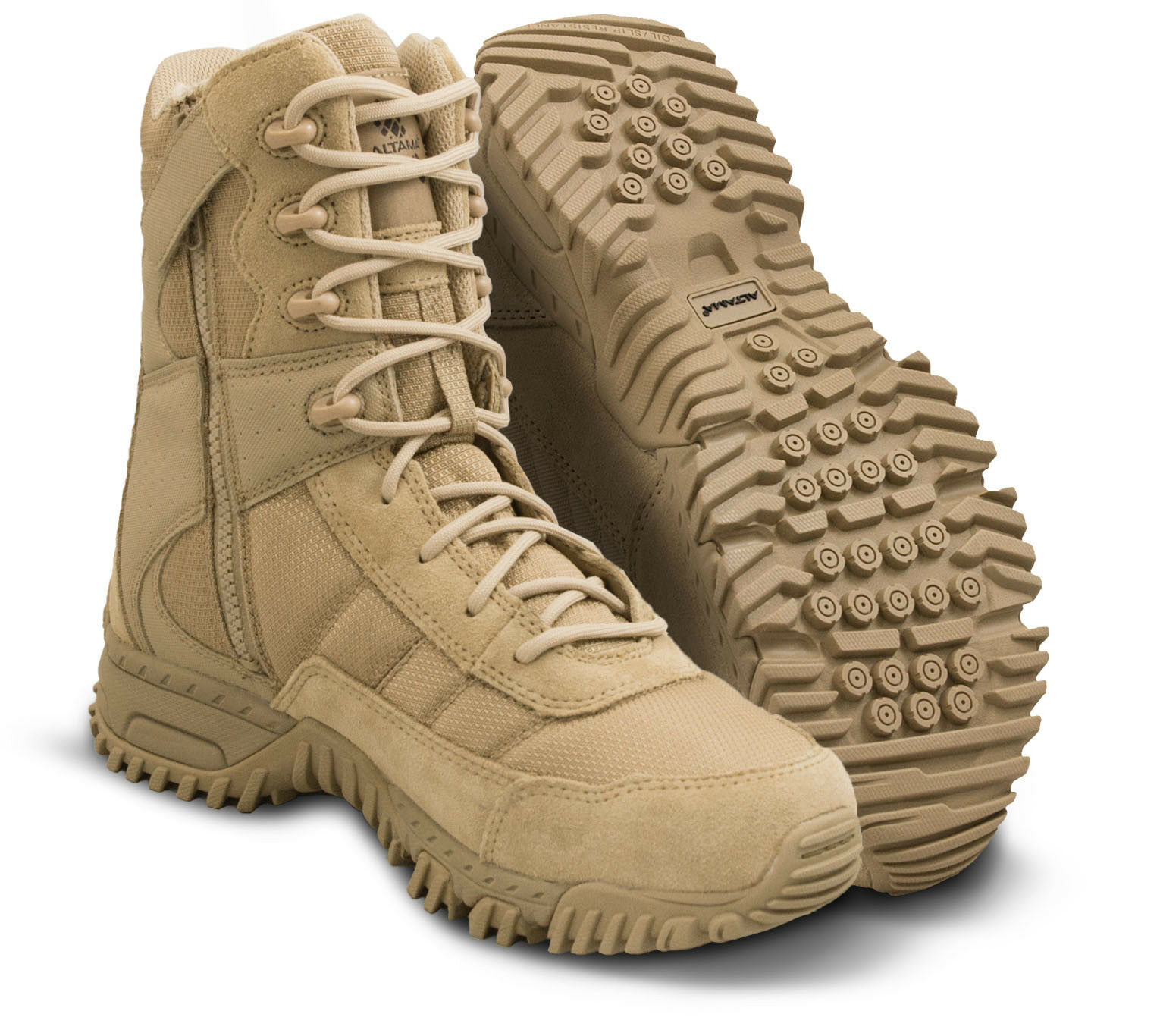 Altama Vengeance SR 8  Side-Zip Tactical Boot 2018 Improved version Tan