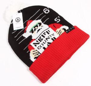c18126b62f9b4 Image is loading NEFF-Men-039-s-Feliz-Navidad-Beanie-Santa-