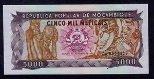 Mozambique 1989-5000 meticais Pick 133 UNC