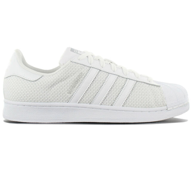 ef655276bbe Adidas Originals Superstar Trainers Shoes Retro Trainers White Textile  S75962