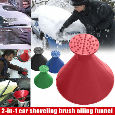 Magic Ein runder Eiskratzer Car Windshield Snow Scraper Auto Eiskratzer DE