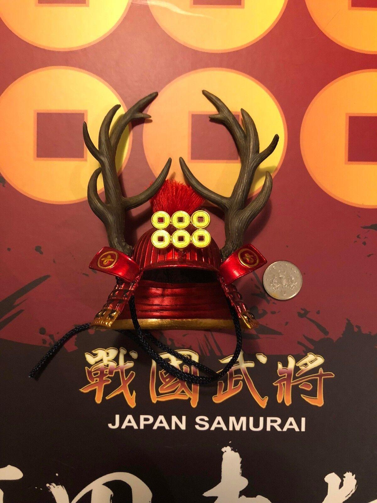 Coo Japón Samurai Sanada Yukimura Casco Modelos Suelto Escala 1 6th