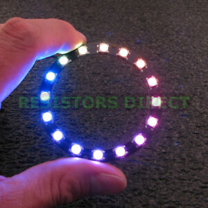 16 Bits Led Rgb Lamps Ws2812b 5050 Rgb Led With Integrated Drivers For Arduino Integrated Circuits
