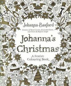 Image Is Loading Johanna 039 S Christmas A Festive Colouring Book